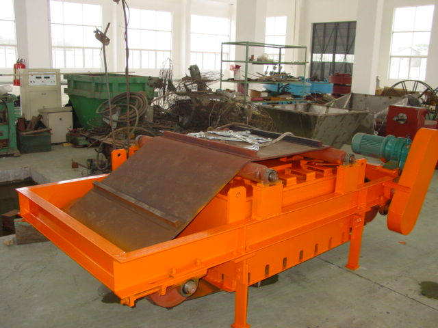 Cross-belt RCDD Series Electro-Magnetic Separator