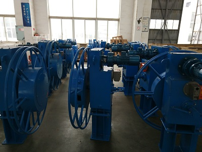 Long Term Locked Torque Motor Cable Reel