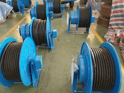 Slipring Built-in Type Cable Reel