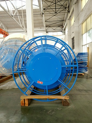 Overhanging Spring Type Cable Reel