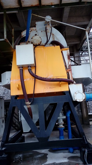 High Gradient Magnetic Separator used for silica sand beneficiation purpose