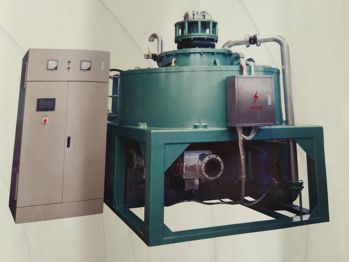 magnetic separator body and control unit