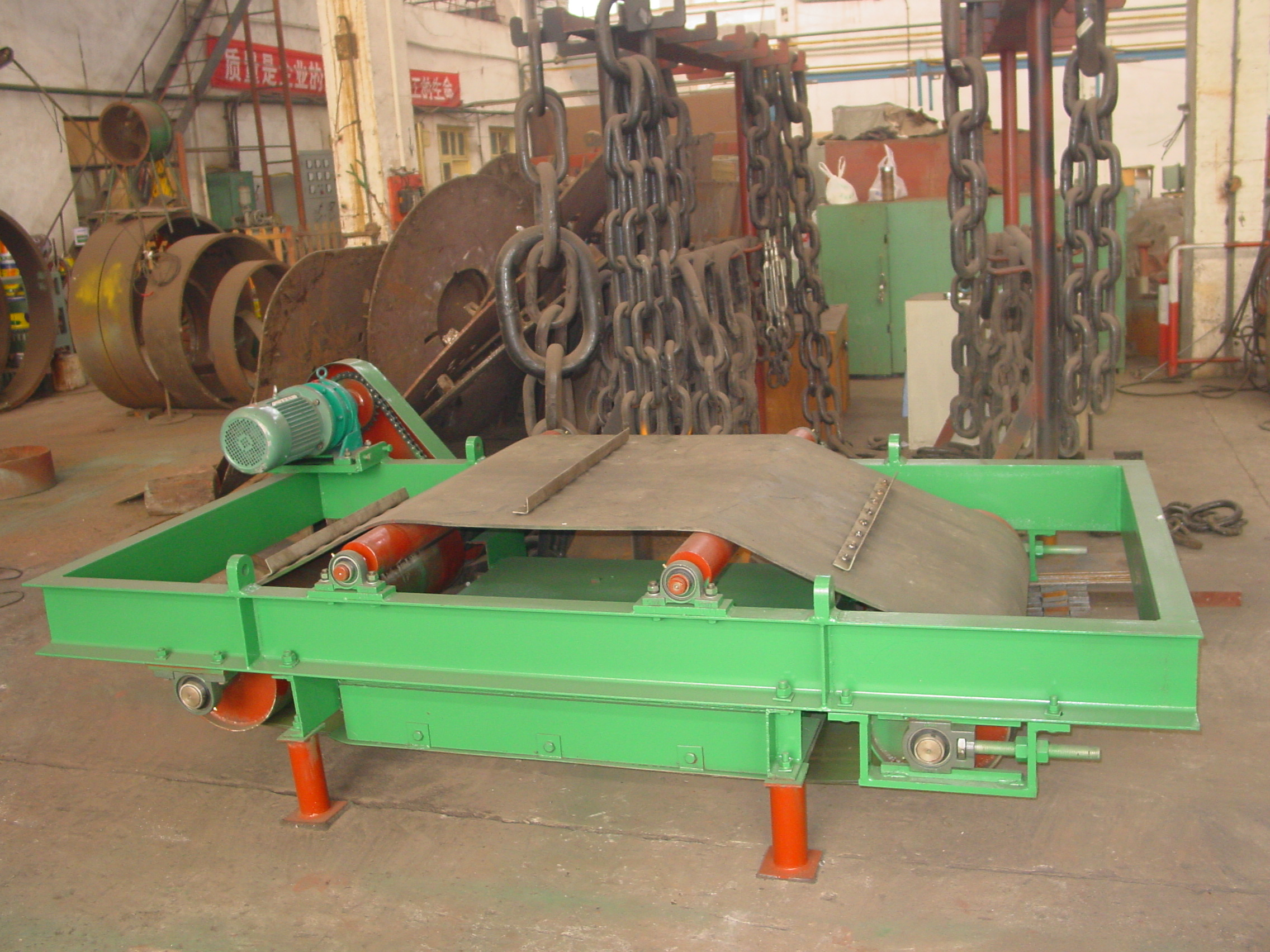 Over Belt Magnetic Separator
